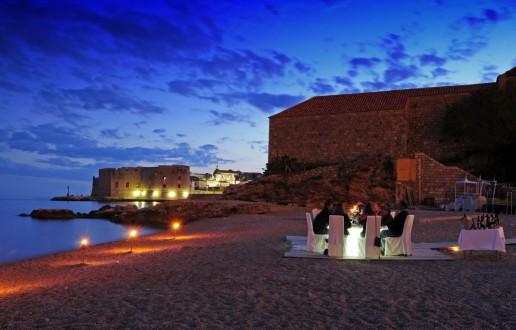 Dinner-Venues-Dubrovnik-Banje Beach
