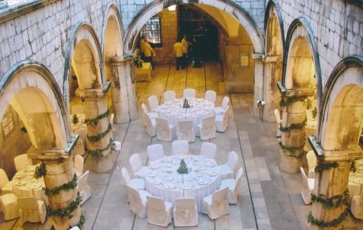 Dinner-Venues-Dubrovnik-Sponza