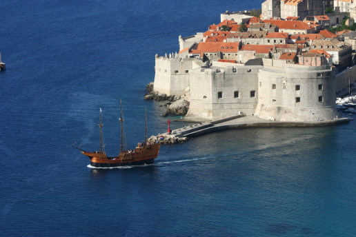 Dubrovnik Traditional Ship