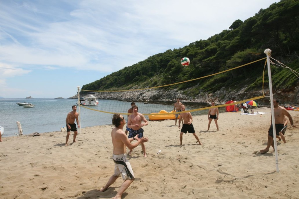 Beach Games Woleyball Dubrovnik